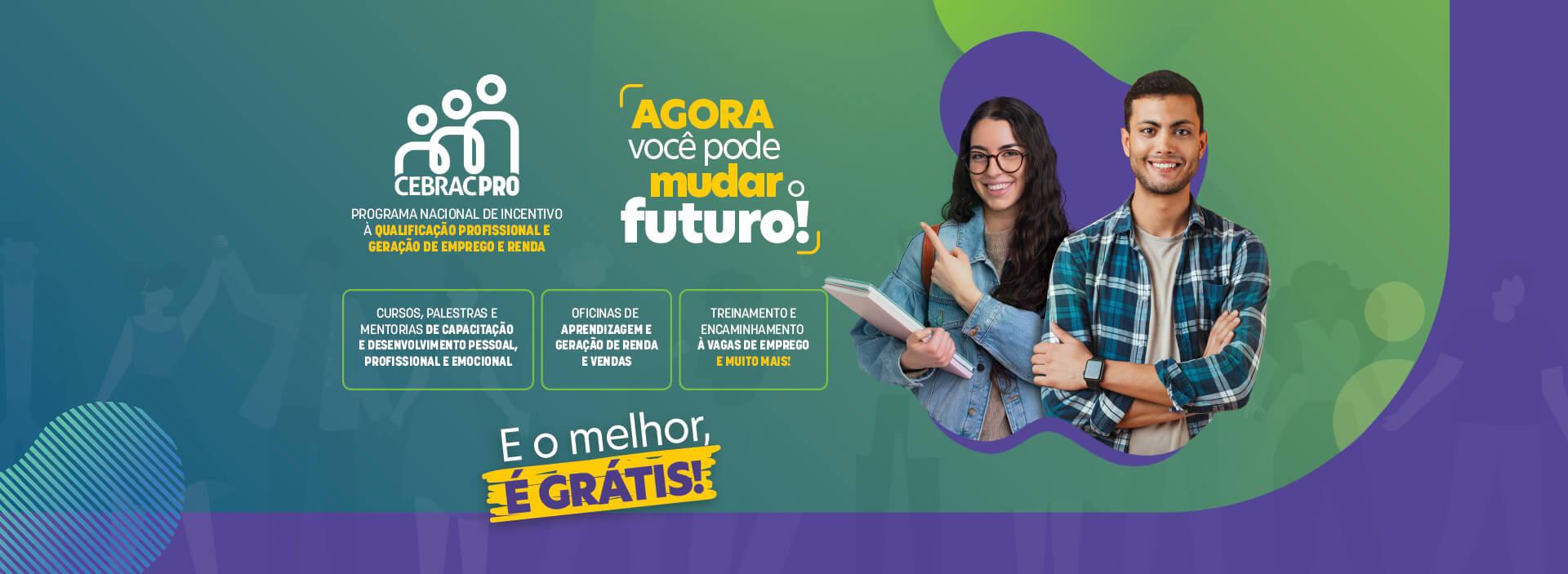 Banner Promoção CEBRACPRO - Participe!